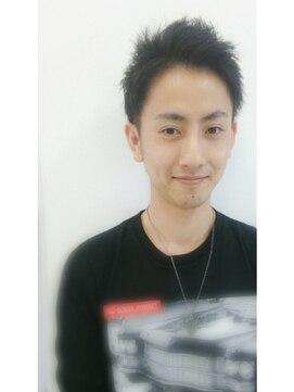 大賀 ヘアビューティ(Oga Hair beauty)メンズカット☆ツーブロック☆黒髪でさわやかイケメン