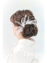 ヘアセットサロン パスクア(Hair Set Salon Pasqua)着物ふんわりアップ
