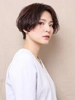 ピークアブー アヴェダ GINZA SIX(PEEK-A-BOO AVEDA)【New(8月)】小顔ハンサムショート