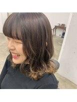 ヘアーアイストゥーレ(HAIR ICI TRE)裾カラー ベージュカラー