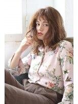 ブルーム コスタ(Blume COSTA)BlumeCOSTA 人気のニュアンスカールのミディアムスタイル