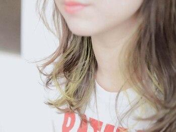 シュリープ 明成店(shleep)の写真/丁寧なカウンセリングで一人一人に合わせたオーダーメイドなカラーを実現!!ワンランク上の艶めく髪へ。