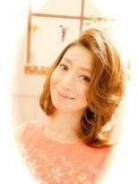 【miel hair bijoux】愛されコンサバナチュラルウェーブ☆