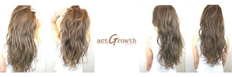 アクトグロース(act Growth)のサロンヘッダー