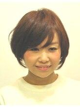 リズ ヘア メイク 香里園駅前店(Liz hair make)フェミニンきわだつナチュラルショート!