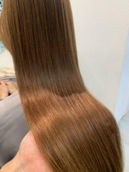 ブランチの写真/【カット+iNOAオイルカラー+プチスパ¥7500】圧倒的ツヤ感×ダメージレスで美しい髪へ!白髪染めも出来ます◎