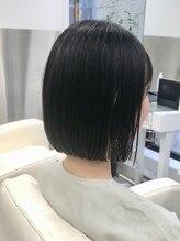クレアトゥールウチノ(CREATEUR Uchino)『切りっぱなしボブ♪』ー髪質改善ー