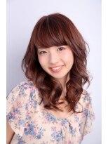ヘアーデザイン リント(hair design Rinto)ラベンダーピンク×太陽の下できれいに見える髪色