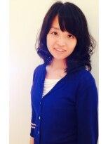 クラメール 黒崎コムシティ店(Kraemer)暗髪でも軽やかな小顔フェミニンミディボブ☆