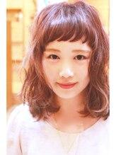 ヘアーメイク ハル(hair make halu)【halu】 ミディアムロブ☆メープルアッシュ