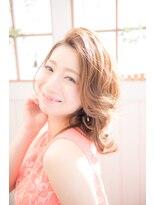 【miel hair blanc】愛されコンサバナチュラルウェーブ☆