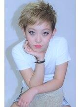 オルオル(OLU OLU)スパイシーショート☆ on blond at21th