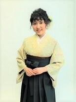 フラココトリコ(hurakoko trico)卒業式もかわいく着物を楽しむヘアデザイン