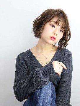 ロココ(hair design rococo)【rococo】ゆるふわボブ★