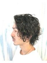 アップ(A+hair)メッシュツイストスパイラルパーマウルフパーマツイスパウルフ