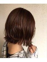 コモン ヘア デザイン(COMMON hair design)切りっぱなしボブ