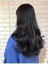 ヘアーモードケーティー 塚本店(Hair Mode KT)黒髪ラベンダーグレージュ