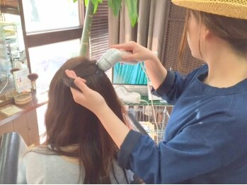 ヘアメイク ルポ(Hair make Repos)の写真/徹底的に髪や頭皮ケアにこだわる【ダメージ予防修復サロン★Repos】貴方の髪本来の美しさを引き出す―。