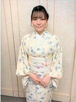 横濱ハイカラ美容院(haikara美容院)カジュアル着付けとヘアセット