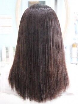 マオヘアー(MAO hair)の写真/【長年のクセのお悩み、MAOにまかせて◆】一人ひとりのうねり・生えぐせに合わせ最適なメニューをご提案。