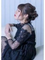 オゥルージュ(Au-rouge noma)【aurouge noma 石井美紗紀】2017AW | DRESS UP HAIRSET