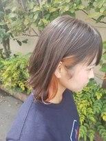 イヤリングカラー×オレンジ