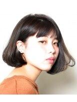 エトネ ヘアーサロン 仙台駅前(eTONe hair salon)【eTONe】大人の前下がりボブ