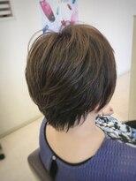 クール ヘアー ギャラリー 神明町店(COOL Hair gallery)ツヤ☆イルミナカラーショート