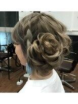 ヘアーサロン エール 原宿(hair salon ailes)(ailes 原宿)style73外国人風編み込みサイドアップ