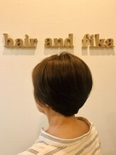 ヘアーアンドフィーカ(hair and fika)