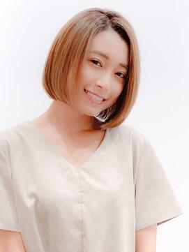 ミンクス 銀座店(MINX)【MINX 蛭田】大人可愛い★カットラインが美しいシンプルボブ