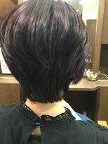 ヘアーメイク プリュム(Hair make Plume)ショート×インナーカラー