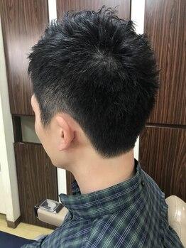 ヘアー フォーシーズンズ(Hair Four Seasons)の写真/【老舗BARBER/カットのみ25分¥2700】理容室ならではの高技術!仕事の合間でも行ける時短メニューもあり◎