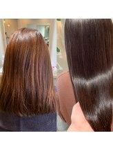 アイフィット(i fit)ナチュラルブラウン×髪質改善水素トリートメント