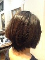 ヘア ルシェ(hair ruscha)【ヘアルシェ】おすすめ♪ナチュラル矯正+自然なハイライト♪