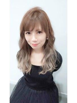 グランヘアー 豊岡店(GRAN HAIR)【GRANHAIR豊岡店】 ダブルカラー♪ふんわりロング♪