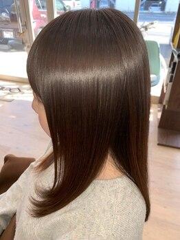 ヘアースパ ドルチェ(HAIR SPA DOLCE)の写真/パサつき・広がりが気になる髪に濃密な潤いを!クセを自然に伸ばすケラチントリートメントもおすすめ♪