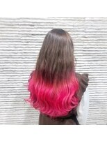 ビス ヘア アンド ビューティー 西新井店(Vis Hair&Beauty)大人かわいい毛先カラー
