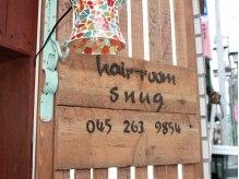 ヘアールーム スナッグ(Hair Room Snug)の雰囲気(かわいいランプが目印♪大通りなのに3Fで目立たない隠れ家☆)