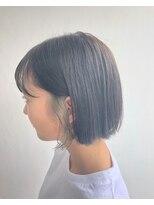 ヘアメイク オブジェ(hair make objet)インナーアッシュ