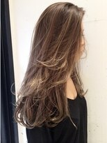 ◆CUT × W gradation color【Lots of natural highlights】
