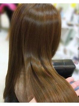 ミューク(mjuk)の写真/【ヤバヤバトリートメント】取扱い♪諦めていたダメージヘアが、思わず触ってしまううる艶髪へ…♪