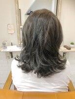 ルルカ ヘアサロン(LuLuca Hair Salon)LuLucaお客様☆スナップ アッシュグレーカラー