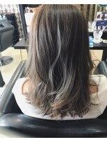 ヘアデザイン ダブル(hair design Double)外国人風カラー