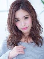オーブ ヘアー アクネ 長岡京店(AUBE HAIR acne)綺麗め小顔カール