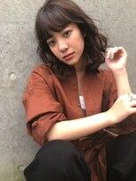 アリーズヘアー 青山(allys hair)ショコラブラウン ◇ 大人ボブ