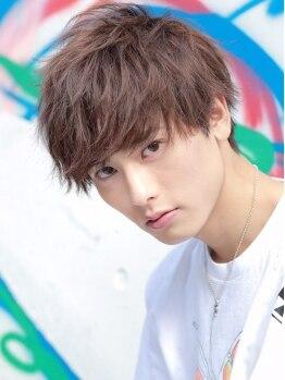 リップス 渋谷(LIPPS)の写真/【渋谷】「これこれ、この束感」お洒落メンズ雑誌ランキングNo.1を取り続ける理由はこの圧倒的な束感ヘア♪