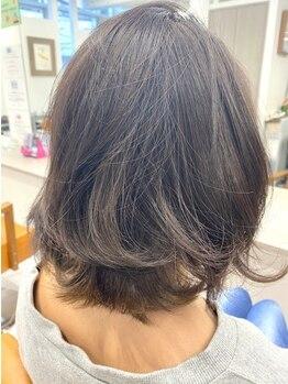 メケアロハ プメハナ(ME KE ALOHA pumehana)の写真/しっかり染めたい方~白髪が染まっても全体は明るくしたい方までお任せください!