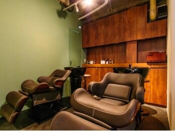 ブルックリン ヘア スタジオ(BROOKLYN HAIR STUDIO)の写真/オーガニックスパで髪と心を癒します…◇毎日頑張っている自分へのご褒美にもおすすめです。