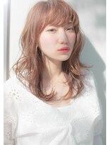 トーン 上大岡(tone.)【tone./中山洋祐】ピンクアッシュモテセミディ